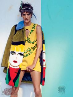 ☆ Alessandra Ambrosio   Photography by Mariano Vivanco   For Vogue Magazine Brazil
