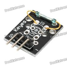 Keyes Mini Magnetic Detection Sensor Module for Arduino (Works with Official Arduino Boards). Brand Keyes Quantity 1 Color Black Material PCB Features working voltage: 3.3V~5V; digital switch output (0 &1) Application Magnetic detection Packing List 1 x Module. Tags: #Electrical #Tools #Arduino #SCM #Supplies #Sensors