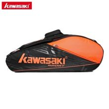 100 Original Kawasaki Racket Should Racquet Sports Badminton Bags Single Shoulder For 6 Rackets Tennis Racket Bag Tennis Bag Badminton Bag Tennis Racket Bag