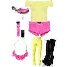 Toy chica inspired outfit fnaf2
