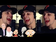 """Guy Performs Amazing Cover Of """"Uptown Funk"""" Using All Of The Voices From """"Family Guy"""""""
