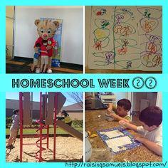 Raising Samuels Homeschool: Homeschool Week 22