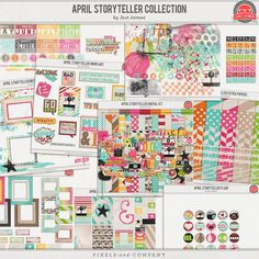April Storyteller 2013 Digital Kit Collection by Just Jaimee - available at Pixels and Company