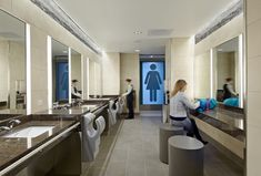 Why Corporate Bathrooms Stink and How Good Design Can Fix This - Workplace Strategy and Design - architecture and design