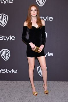 January InStyle and Warner Bros Golden Globes After Party - 004 - Adoring Karen Gillan Beautiful Redhead, Beautiful Legs, Beautiful Celebrities, Karen Sheila Gillan, Sexy Legs, Redheads, Sexy Women, Celebs, Actresses