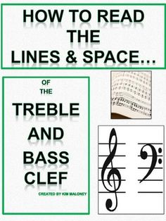 A 24 page PDF file introducing students to the lines and spaces of the treble and bass clef! Has quizzes with answer sheets along the way to check understanding    $