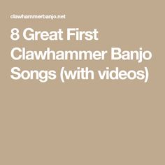 In my last post, I mentioned I'd be using the Brainjo Level system for any clawhammer banjo tabs and arrangements I release going forward, to make it easier for you to select and learn tunes … Banjo Tabs, My Big Love, Music Lessons, Songs, Violin, Guitar, Learning, Claw Hammer, Videos