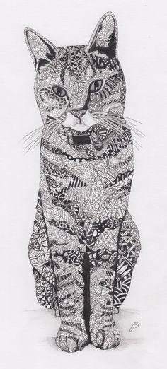 Die 219 Besten Bilder Von Zentangle Tiere Tiere Zentangle