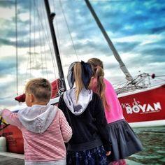 #royan #royanwebtv #preschool Ce matin avant l'école, c'était l'appel du large! #trimaran #port #charentemaritime #igerscharentemaritime