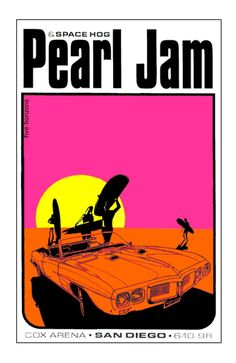 Spacehog and Pearl Jam San Diego