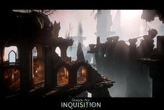 "Dragon Age Inquisition DLC :  ""Trespasser"", Ryan Love on ArtStation at https://www.artstation.com/artwork/XaBPn"