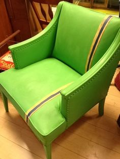 Upcycled chair.