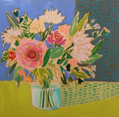 Image of 30x30 Flowers for Margie