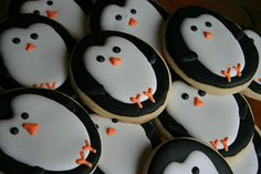 Share Dessert Company: Winter Wonderland Birthday Party {Decorated Sugar Cookies, Cake}