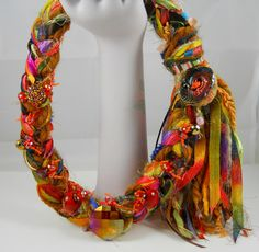 For Lovers of Texture and Color This Artful Piece Is by BSBoutique, $55.00