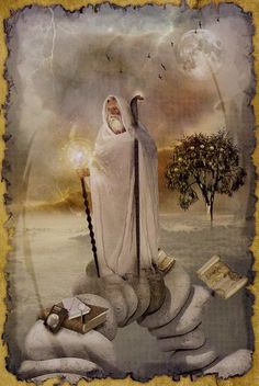 VIIII - The Hermit The Mystic Dreamer Tarot