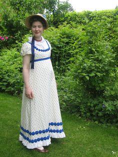 Regency dress 1811