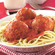 ... | Italian Meatballs, Spaghetti And Meatballs and Turkey Meatballs