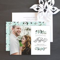 Holiday Foliage Holiday Photo Cards by Sarah Brown Wedding Stationery, Wedding Invitations, Christmas Photo Cards, Cool Patterns, Bold Colors, Save The Date, Diy Projects, Brown, Fun