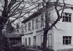 The former Count Dr. Aliberti house on Kıbrıs Street, Boudja, Smyrna.