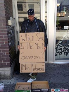 Best Homeless sign ever