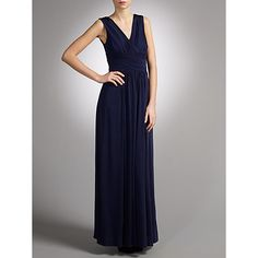 Buy John Lewis Frances Jersey Maxi Dress, Midnight Online at johnlewis.com