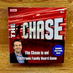 The Chase Electronic Family Board Game - Ideal 2012 for sale online Family Board Games, Game Sales, Best Part Of Me, Tv Shows, Boards, Holidays, Electronics, Party, Fun