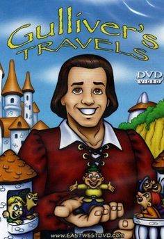 Gulliver's Travels DVD The Classic Returns Animated Family Kids Movie 75 Min