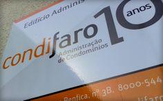 Logótipo e estacionário da empresa Condifaro | Faro