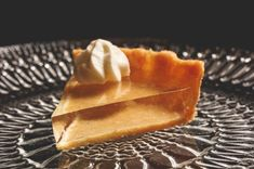 translucent pumpkin pie | Crystal Clear Pumpkin Pie - Neatorama