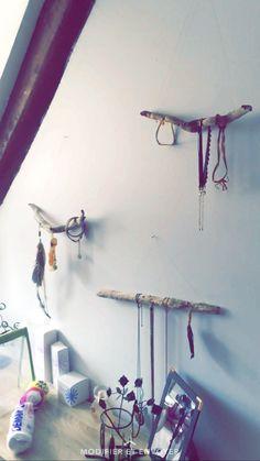 Porte bijoux fait maison #decoration #maison #portebijoux #decorationmurale #creation