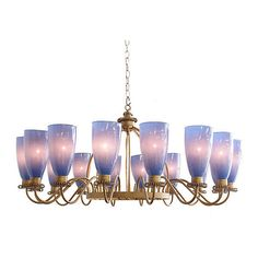 Suburban Chandelier Twilight Blue Ceiling Chandeliers ($2,625) ❤ liked on Polyvore featuring home, lighting, ceiling lights, mid century lamp, mid century ceiling lamp, mid century lighting, mid century modern chandelier and midcentury lamp