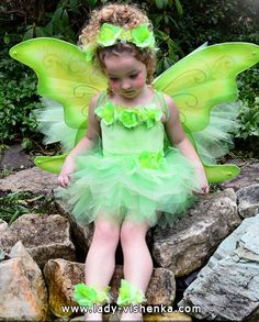 The costume for a little girl - Forest Fairy