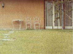 Her home - dry and desolate - - - - - - - - - - Luigi Ghirri, Modena (1972)