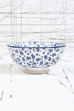Japanese Blossom Bowl in Blue