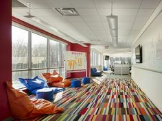 Love the flooring....AWeber Communications New LEED Gold Headquarters