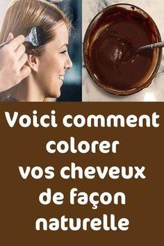 Voici comment colorer vos cheveux de façon naturelle