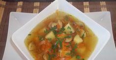 Zupa marchewkowo-pieczarkowa. Cebulę pokroić w kostkę,zeszklić w garnku na rozgrzanym oleju. Pieczarki pokroić w... Sprawdź!