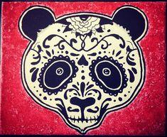 panda sugar skull omg love it