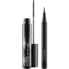 MAC Fluidline Pen & Pro Beyond Twisted Lash Set ($22) ❤ liked on Polyvore featuring beauty products, makeup, eye makeup, no color, mac cosmetics and mac cosmetics makeup