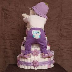 Image result for baby shower diaper cakes