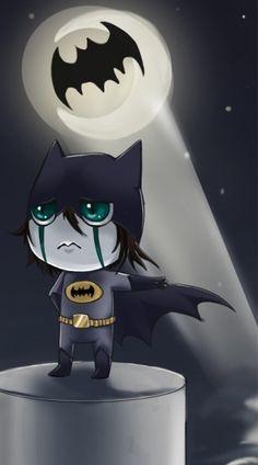 Oh lord. Batman Ulquiorra = priceless. lol