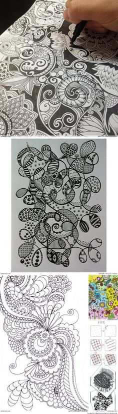 Zentangle Patterns Ideas