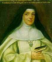 Santa Maria Eufrásia Pelletier, fundadora  25 de aril