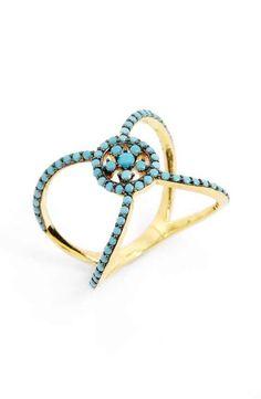 Main Image David Yurman Barrels Ring With Diamonds In