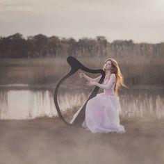 Wind whispers. Muse:@siiilennce ❤, photo:@izabella.sapula mua:@dorota_art dress:@retromania.pl harp and assist: Tomek Ossolinski #m3xtures #wonderland_arts #fotoart #fotografia #themysterypr0ject #theportraitpr0ject #naturelovers #wind #harp #dreamer #dreaming #sombrebeings #portraitmood#igw_mystica#humansoul #humanedge #photoshoot #photo #fotodome#135 #project0uno #instagram #instagood#portraits_ig #portraitsmag #portraits_mf#majestic_people #majestic#heart_soul_portraits