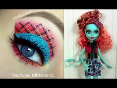 Monster High's Lorna McNessie Makeup Tutorial. Youtube channel: full.sc/SK3bIA
