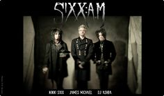 """Sixx: AM ~ Sixx:A.M. is a hard rock band from Los Angeles, California, formed in 2007 by Nikki Sixx, DJ Ashba, and James Michael, and is the side project of Sixx, who is also the bass guitarist for Mötley Crüe. The group is best known for their songs """"Life Is Beautiful"""" and """"Lies of the Beautiful People"""". The name Sixx:A.M. is a combination of all of the member's last names (Sixx, Ashba, Michael)."""