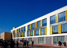 A school in a deprived part of London has good environmental credentials and is popular with the local community.