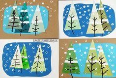 Weihnachtskarten basteln mit Kindern für eine schöne Winterzeit. Diese Bastelidee ist für Kleinkinder geeignet. Diy For Kids, Crafts For Kids, Painting For Kids, Christmas Projects, Projects To Try, Kids Rugs, Lettering, Holiday Decor, Classroom